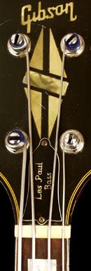 Gibson Les Paul Triumph bass headstock