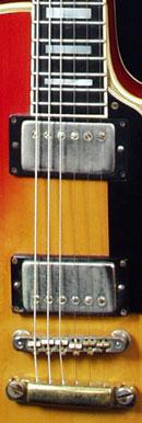 Gibson Les Paul Custom pickups