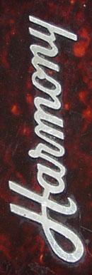 Harmony headstock logo
